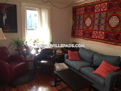 Somerville Apartment for rent 4 Bedrooms 1 Bath  Union Square - $4,100